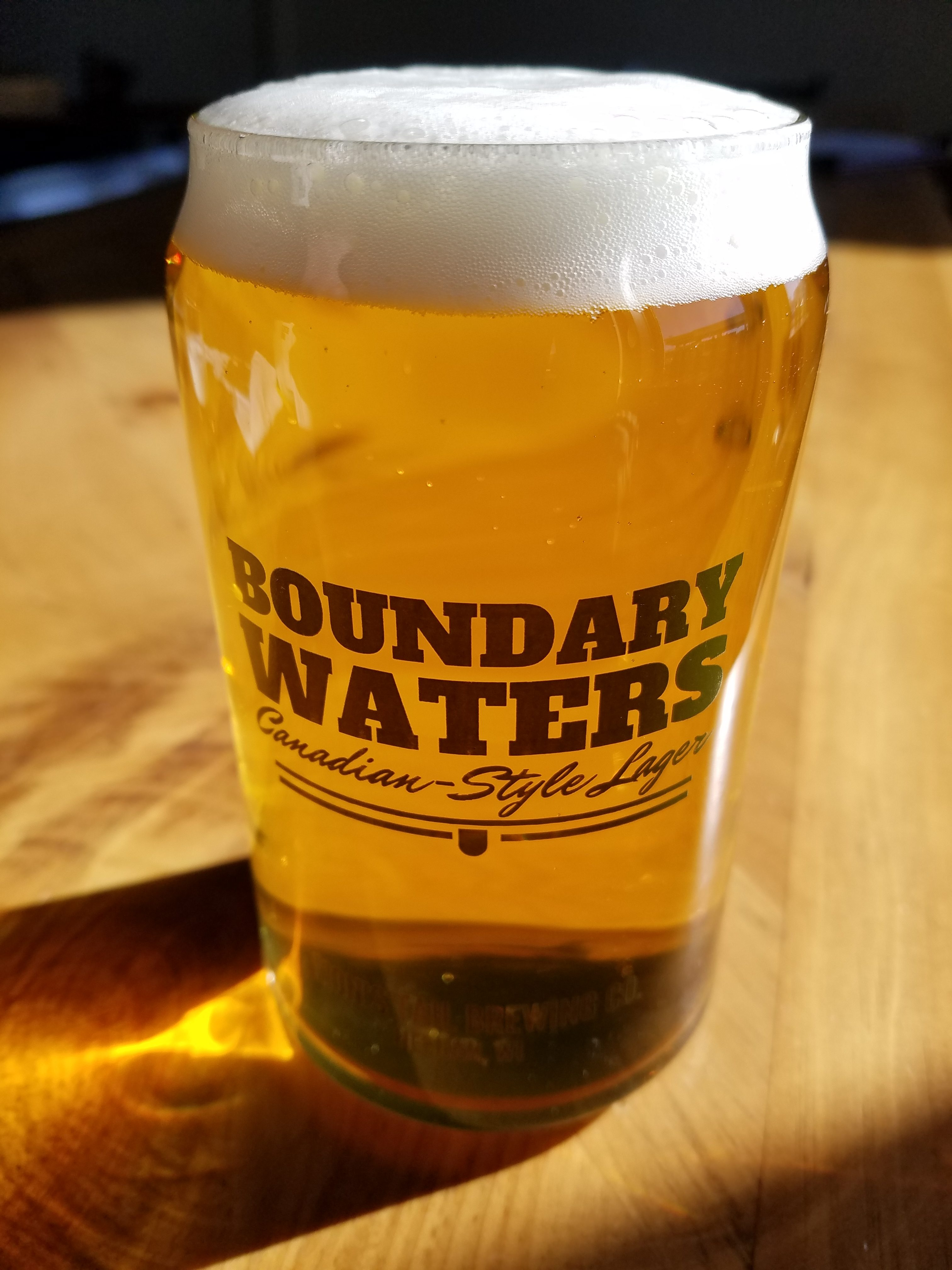Boundary Waters – Canadian Style Lager