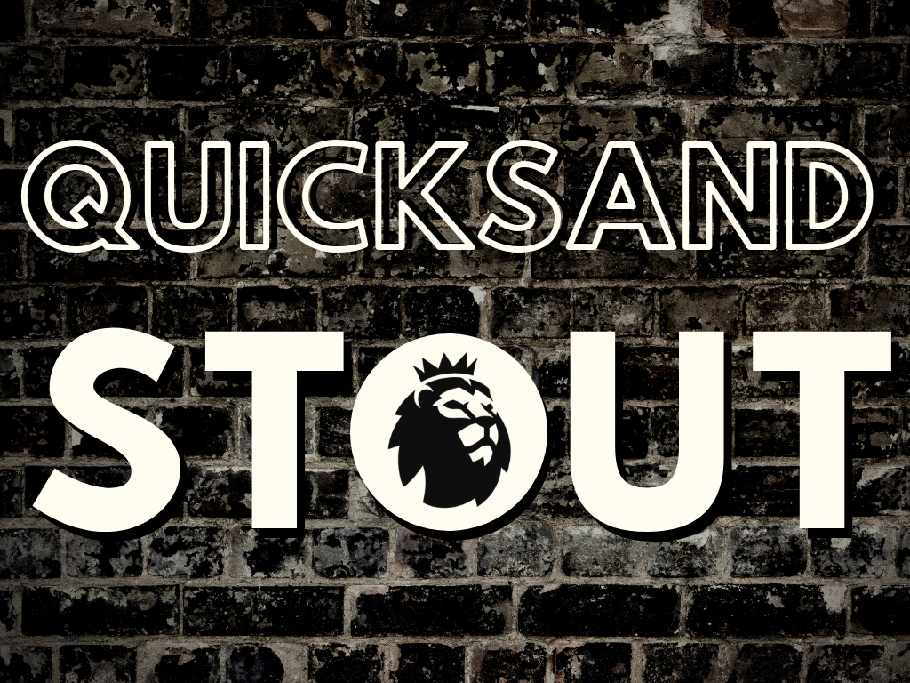 Coming Oct 5th: Quicksand Stout